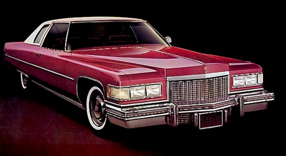 Image: 1975 Cadillac Coupe deVille