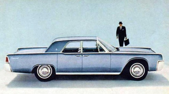 1963 Lincoln Continental Contents | AUTOMOTIVE MILEPOSTS