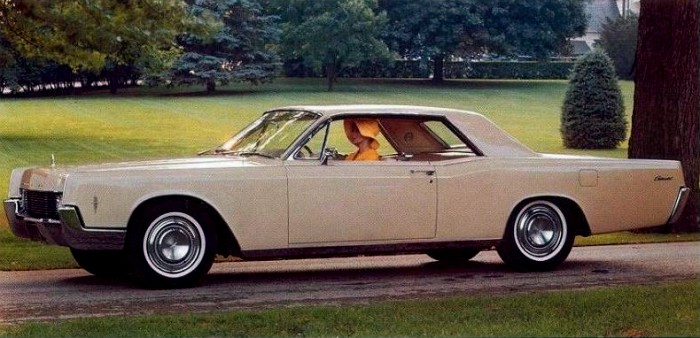 1966 Lincoln Continental Contents | AUTOMOTIVE MILEPOSTS