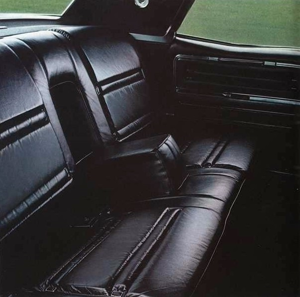 1969 Lincoln Continental Town Car Interior Trim Option