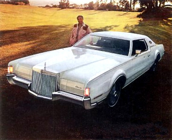 image 1972 continental mark iv