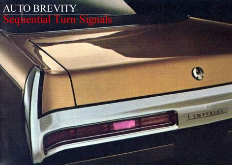 Sequential Rear Turn Signals Auto Brevity
