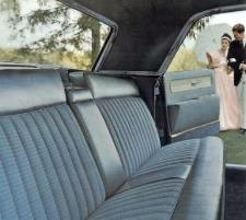 1961 Lincoln Continental Sedan with rear suicide door open & Suicide Doors | AUTO BREVITY