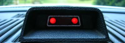 Fiber Optic Lamp Monitors Auto Brevity
