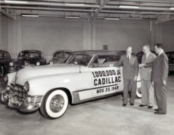 Image: One millionth Cadillac built