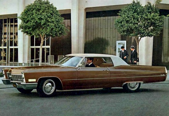 Image: 1967 Cadillac Coupe deVille
