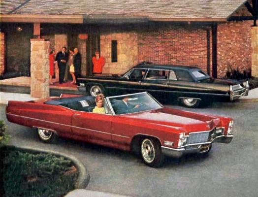 1968 Cadillac Standard Equipment