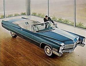 1968 Cadillac Interior Trim