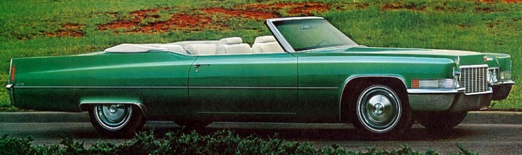 1970 Cadillac Production Numbers/Specifications