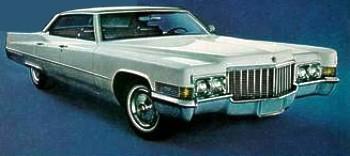 1970 Cadillac Standard Equipt