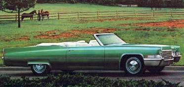 Image: 1970 Cadillac DeVille Convertible