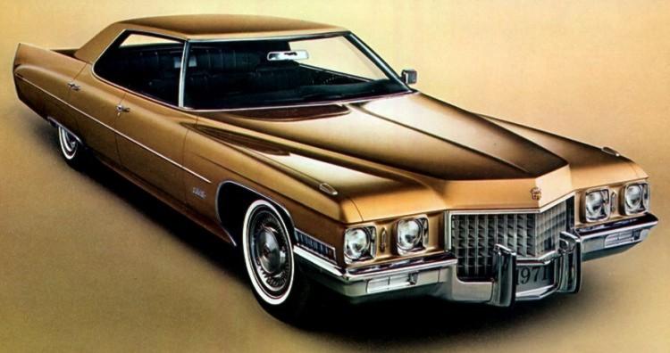 1971 Cadillac Standard Equipment