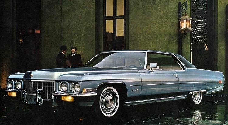 1971 Cadillac Contents | AUTOMOTIVE MILEPOSTS