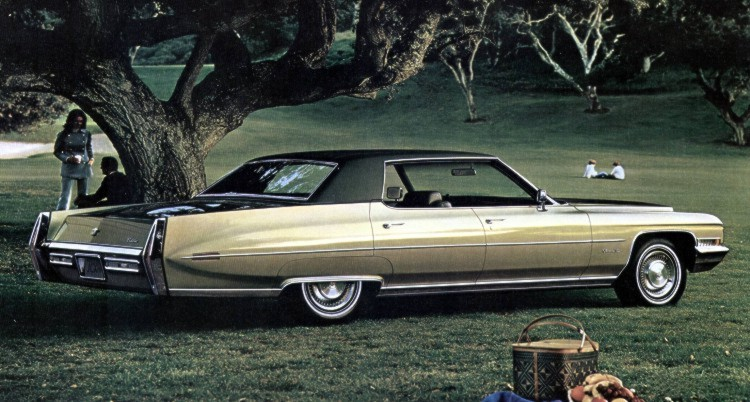1971 Cadillac Paint Codes