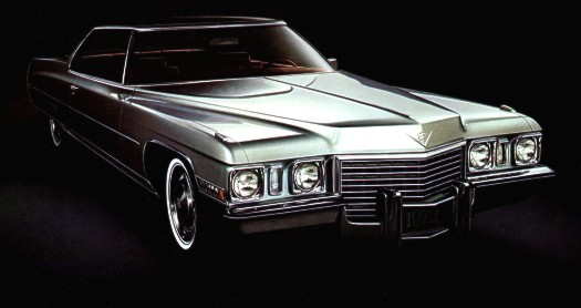 Image: 1972 Cadillac Coupe deVille