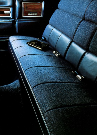 1972 Cadillac Interior Trim