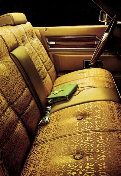 1972 Cadillac Interior Trim