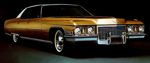 1972 Cadillac Production Numbers/Specifications