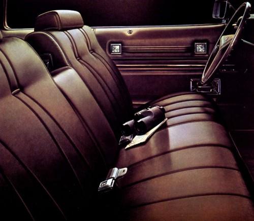 1973 Cadillac Interior Trim