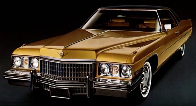 1973 Cadillac Paint Codes