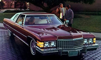 Image: 1974 Cadillac Coupe deVille