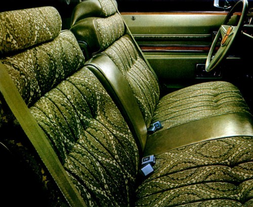 1974 Cadillac Interior Trim