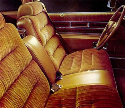 1975 Cadillac Interior Trim