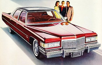 1975 Cadillac Production Numbers/Specifications