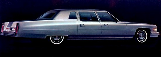 1975 Cadillac Production Numbers Specifications