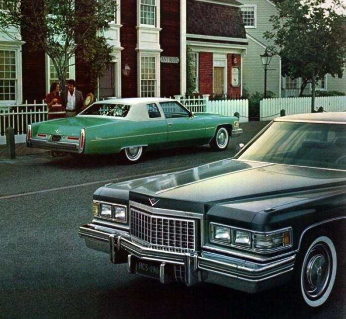 1976 Cadillac Paint Codes