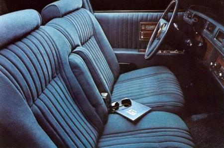 1976 Cadillac Seville Interior Trim