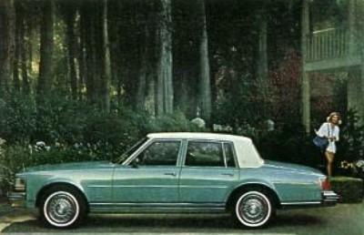1977 Cadillac Seville Interior Trim