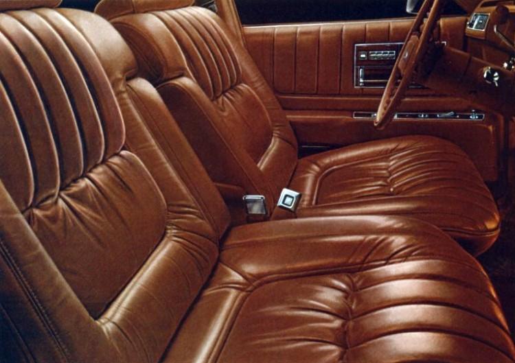 1978 Cadillac Seville Interior Trim