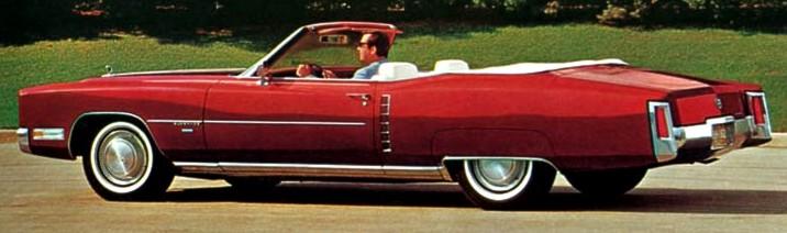 1971 Cadillac Eldorado Paint Codes