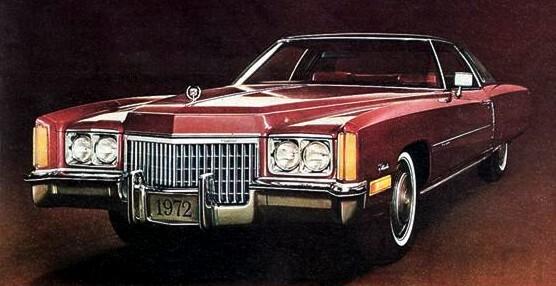 1972 cadillac eldorado contents   automotive mileposts