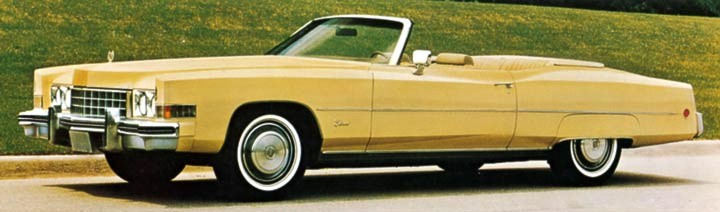 1973 Cadillac Eldorado Contents | AUTOMOTIVE MILEPOSTS