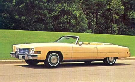 1973 Cadillac Eldorado Standard Equipt