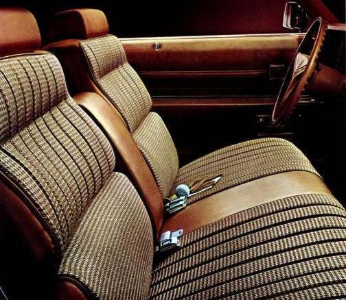 1973 Cadillac Eldorado Interior Trim