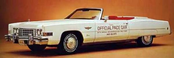 Worksheet. 1973 Cadillac Eldorado Convertible Pace Car