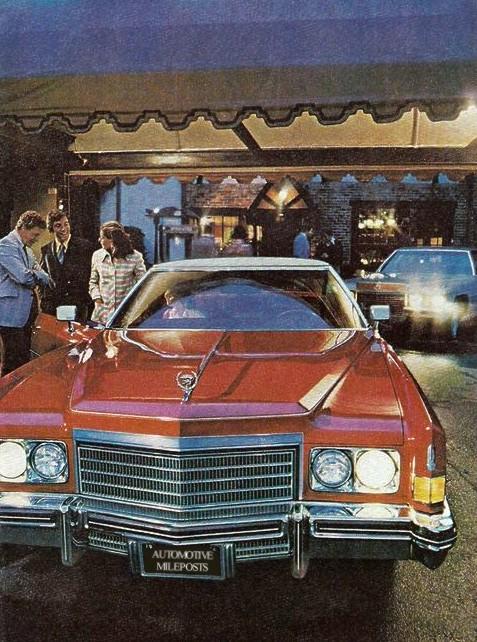 1974 Cadillac Eldorado Production NumbersSpecifications