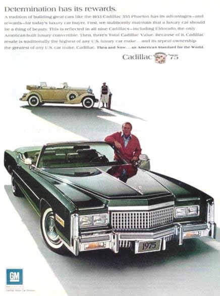 1975 Cadillac Eldorado Production NumbersSpecifications