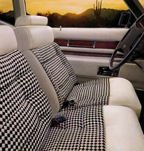 1975 cadillac eldorado interior trim. Black Bedroom Furniture Sets. Home Design Ideas