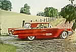 1959 Ford Thunderbird Hardtop in Brandywine Red
