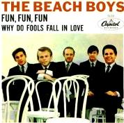 "Original cover for ""Fun, Fun, Fun"" single by The Beach Boys"
