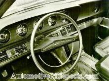 1969 Thunderbird instrument panel