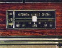 1968 Cadillac Automatic Climate Control