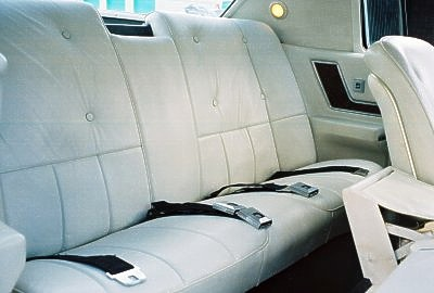 Image: 1968 Cadillac Fleetwood Eldorado leather interior