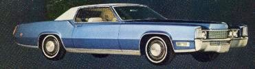 1969 Cadillac Fleetwood Eldorado in Astral Blue Metallic