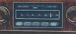 AM/FM Signal Seeking Stereo Radio