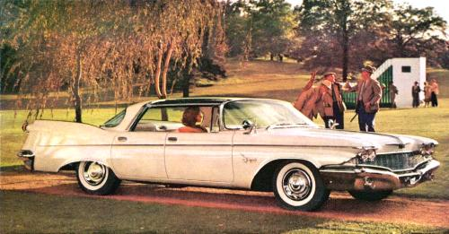 Image: 1960 Imperial Crown Four-Door Southampton